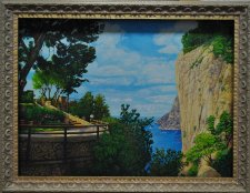 pejz_landscape_oil painting_Italy